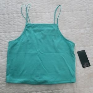 Beautiful Turquoise Crop Top